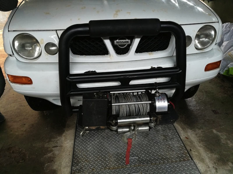Instalar Winch desmontable