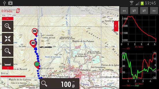 Oruxmaps meter y seguir mapa