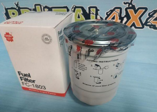 Filtro de combustible NISSAN Terrano 1 y 2