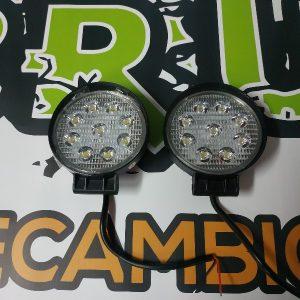 Faros LED 4×4 27w redondo PRECIO UNIDAD