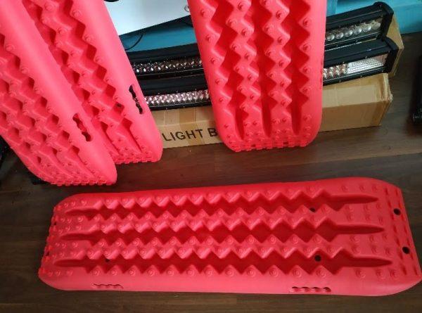 Planchas de desatasco rescate 10T para 4×4