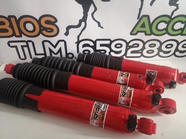 Amortiguadores Nissan Terrano +5cm regulables