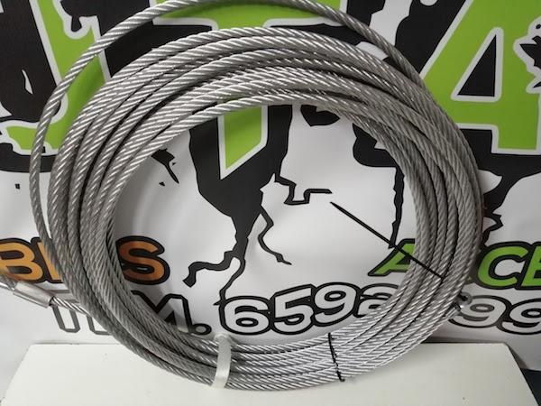 Cable de acero 10mm 25 metros
