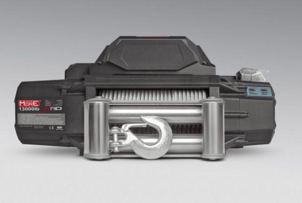 Cabrestante More4x4 PRO 13000lb cable acero y mando distancia