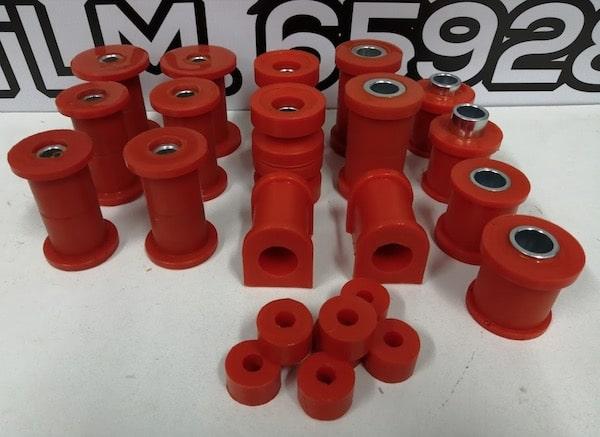 Kit Navara D21 Silentblocks poliuretano