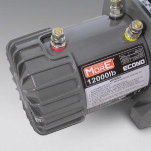 Cabrestante 4X4 ECONO 12000lbs Winch 12V, cuerda de acero, rodillos, control remoto